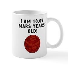19th Birthday Mars Years Mugs