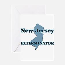 New Jersey Exterminator Greeting Cards