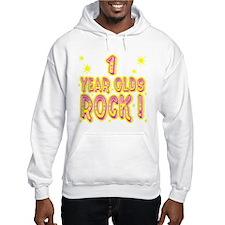 1 Year Olds Rock ! Hoodie