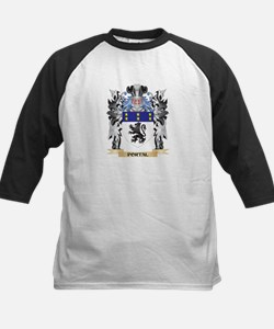 Portal Coat of Arms - Family Crest Baseball Jersey