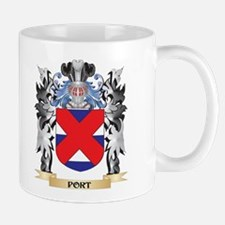 Port Coat of Arms - Family Crest Mugs