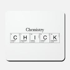 Chemistry Chick Mousepad