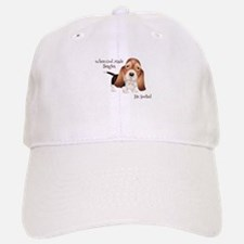 When God Made Beagles Baseball Baseball Baseball Cap