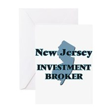 New Jersey Investment Broker Greeting Cards
