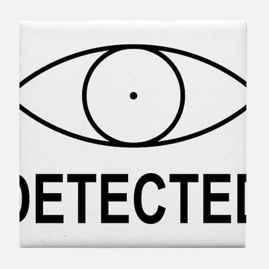 Skyrim detected Black Tile Coaster