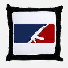 AK 47 league Throw Pillow
