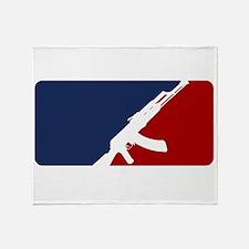 AK 47 league Throw Blanket