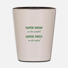 SUPER MOM Shot Glass