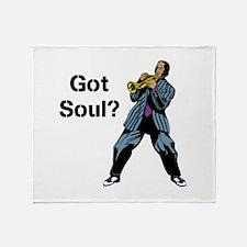 Got Soul? Throw Blanket