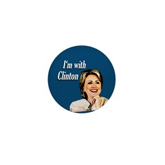 I'm with Clinton small pin
