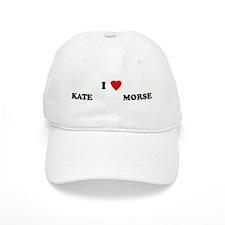 I Love KATE M Baseball Cap