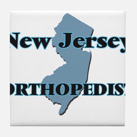 New Jersey Orthopedist Tile Coaster