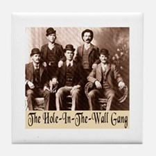 The Wild Bunch Tile Coaster