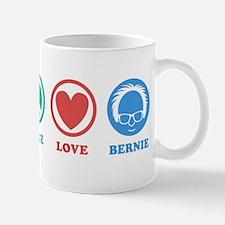 Peace Love Bernie Icons Mugs