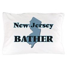 New Jersey Bather Pillow Case