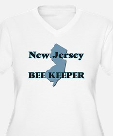 New Jersey Bee Keeper Plus Size T-Shirt
