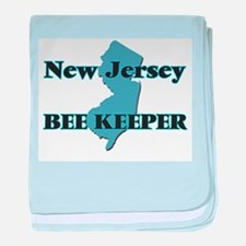 New Jersey Bee Keeper baby blanket