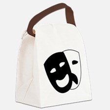 Theater masks Canvas Lunch Bag