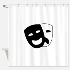 Theater masks Shower Curtain