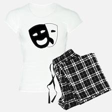 Theater masks pajamas