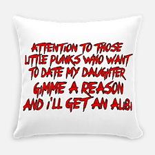 Get an Alibi Everyday Pillow