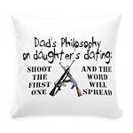 Dad's Philosophy Everyday Pillow