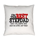 Best Stepdad Everyday Pillow