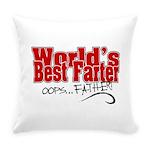 World's Best Farter Everyday Pillow