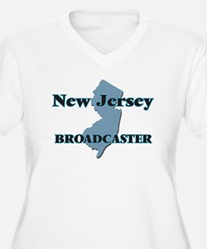 New Jersey Broadcaster Plus Size T-Shirt