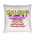 whenigrowup.png Everyday Pillow