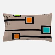 Mid-Century Abstract Art Pillow Case