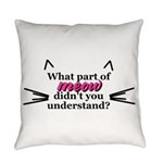 meow.png Everyday Pillow