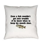 fishtrouble.png Everyday Pillow