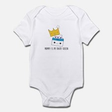 Mommy Is My Dairy Queen Infant Body Suit
