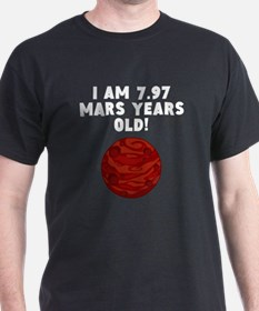 15th Birthday Mars Years T-Shirt