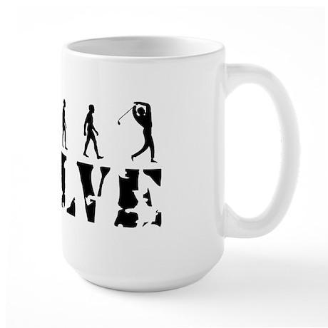 Golf Golfing Golfers Large Mug
