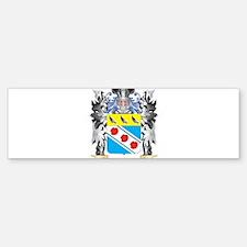 Pullen Coat of Arms - Family Crest Bumper Bumper Bumper Sticker