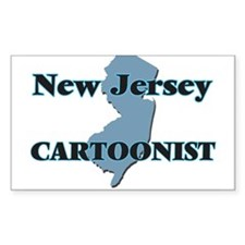New Jersey Cartoonist Decal