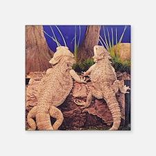 """Dragon Love Square Sticker 3"""" x 3"""""""