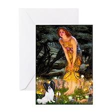 Midsummers Eve & Papillon Greeting Card