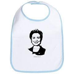 Hillary Clinton Face Bib