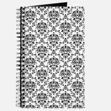 Black and White Damask Journal