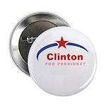 Clinton for President Button