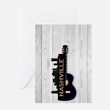 Nashville SGS5-WH Greeting Card