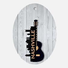 Nashville SGS5-WH Oval Ornament