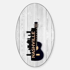 Nashville SGS5-WH Sticker (Oval)