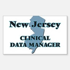 New Jersey Clinical Data Manager Decal