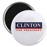 Clinton for President Magnet