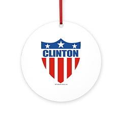 Clinton Ornament (Round)