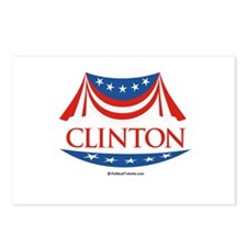 Clinton Postcards (Package of 8)